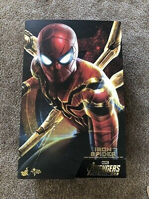 $284.99 • Buy Hot Toys Iron Spider Avengers Infinity War MMS482 1/6 Scale Figure Brand New