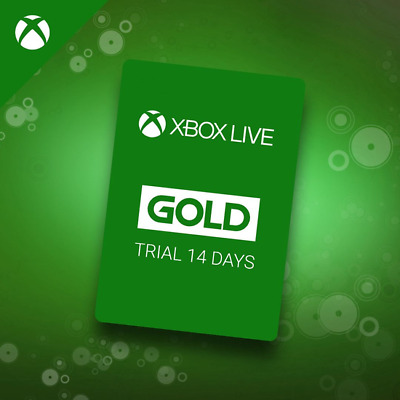 $5 • Buy INSTANT Delivery XBOX LIVE 14 Day GOLD Trial Membership Code - 14 Days