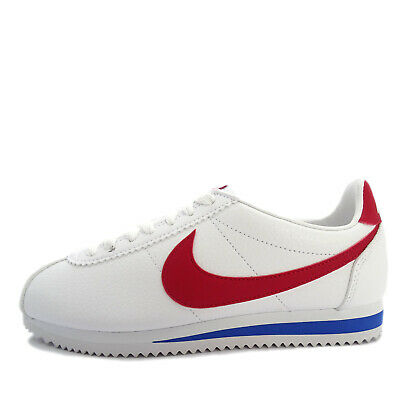 AU182.95 • Buy Nike Classic Cortez Leather [749571-154] Men Casual Shoes White/Red-Royal