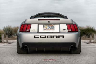 $429.95 • Buy 2003 2004 Ford Mustang Cobra SVT Carters Customs Rear Diffuser MADE IN USA NEW