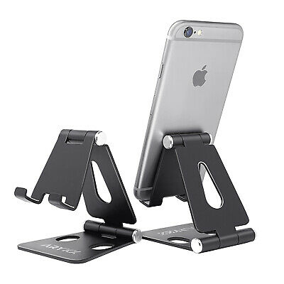 $9.99 • Buy Cell Phone Stand Adjustable Aluminum Phone Holder For IPhone 11 Pro Max XR Desk