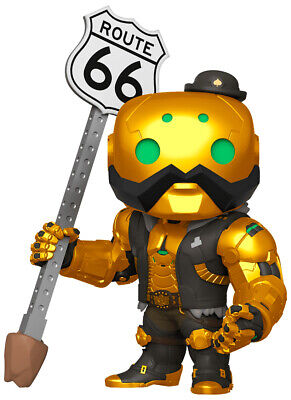 AU37.95 • Buy Funko Pop Vinyl Overwatch B.o.b. Metallic Exclusive 6  Vinyl Figure