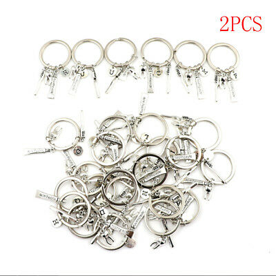 2Pcs Dentist Keyring Keychain Dental Assistant Gift Dental Hygienist Keyring SG • 3.77£