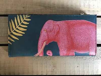 Disaster Designs Heritage And Harlequin Elephant Purse • 24£