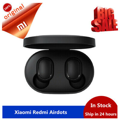 $10.98 • Buy Original Xiaomi Redmi AirDots Mi True Wireless Earbuds Basic Bluetooth Earphone*