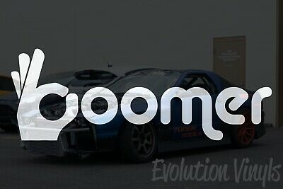 $1.99 • Buy OK BOOMER V1 Decal Sticker - JDM Lowered Stance Low Drift Slammed Turbo Slammed
