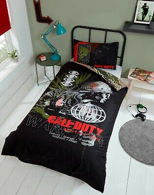 £19.99 • Buy Call Of Duty Single Duvet Cover Reversible Bedding Set Cold War Ideal Gift