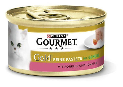Purina GOURMET Gold Fine Pate, High-quality Cat Wet Food, Pet Food, With For Of • 20.25£
