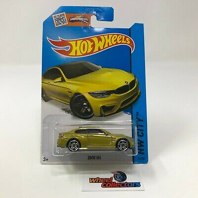 $4.99 • Buy BMW M4 #24 * GOLD * 2015 Hot Wheels * WH18