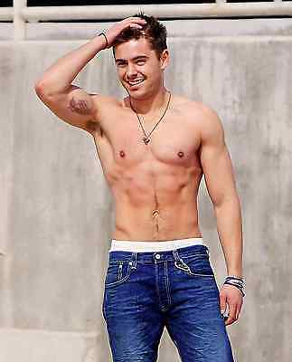 Zac Efron Poster A4 A3 A2 A1 Gift Present SW0722 • 4.95£