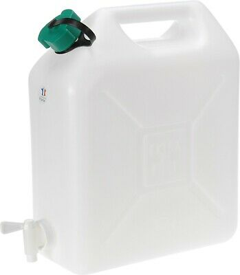 10 Litre Water Carrier Jerry Can Container Food Grade Plastic With Tap • 11.99£