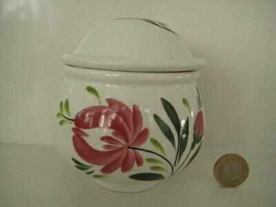 Portmeirion Welsh Dresser Made In Britain Small Lidded Jar Canister Pot Sugar • 16.99£