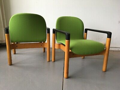 AU1795 • Buy Mid Century Scandinavian Single Blondewood Armchair 1960s