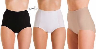 2 Pairs Ladies La Marquise Everyday Cotton Control Maxi Briefs Knickers UK 12-20 • 8.99£