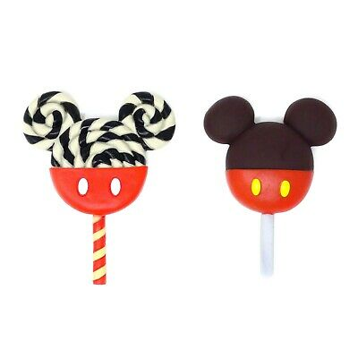 $12.99 • Buy Disney Mickey Mouse Icon Lollipop & Icon Apple Candy Refrigerator Magnet -2 Pack