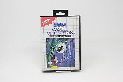 AU37.36 • Buy Castle Of Illusion Starring Mickey Mouse Sega Master System SMS Ms INV-5036