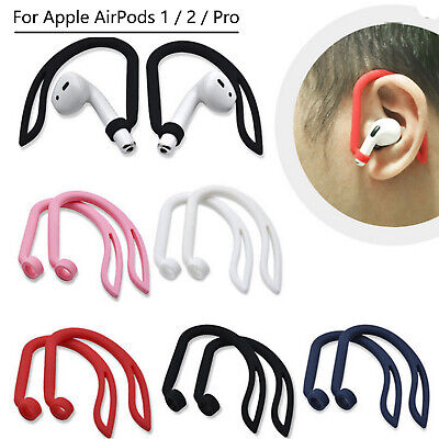 $ CDN3.60 • Buy Silicone Ear Hook Anti-lost Earloop For Apple AirPods Pro 3 21 Bluetooth Headset