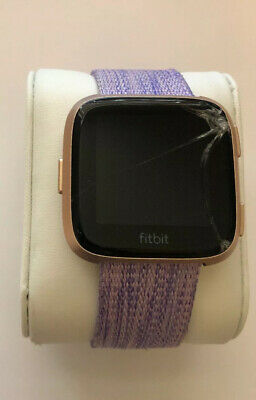 $ CDN42.22 • Buy Fitbit Versa Special Edition Health & Fitness Smartwatch - Lavender - As Is