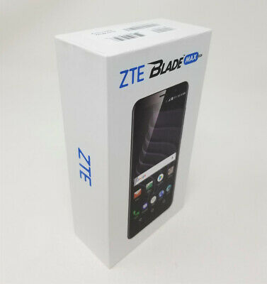 $99.99 • Buy ZTE Blade Max View 32GB Z610DL Black Factory Unlocked AT&T VERIZON T-MOBILE. NEW