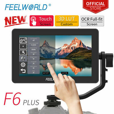 AU280.36 • Buy FEELWORLD F6 Plus 5.5in IPS On-Camera Field Monitor Kit 16:9 1920*1080 For DSLR
