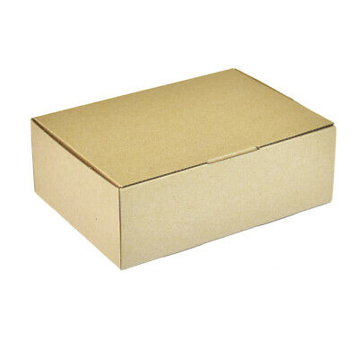 AU26.50 • Buy Mailing Box 310x220x102mm - Brown Diecut - Shipping Cardboard Carton A4 B2 BX2