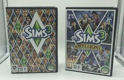 The Sims 3 & Ambitions Expansion Pack (PC: Mac, 2009/2010 • 12.50£