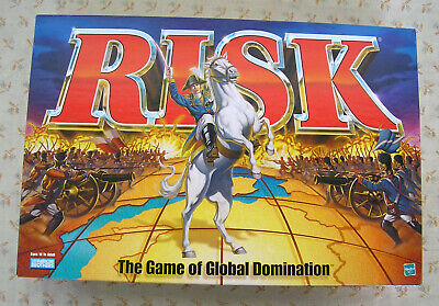 $23.50 • Buy Risk The Game Of Global Domination Parker Brothers Complete Excellent 1998