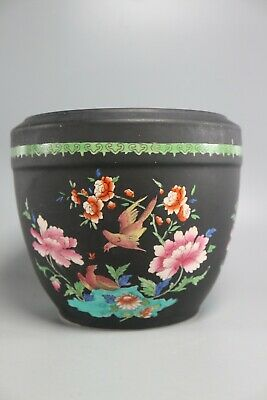 Late 19TH CENTURY MINTON VASE WITH BIRDS AND FLOWERS • 70.56£