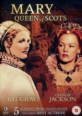 Mary Queen Of Scots Dvd Film Movie Vanessa Redgrave Glenda Jackson • 4.99£