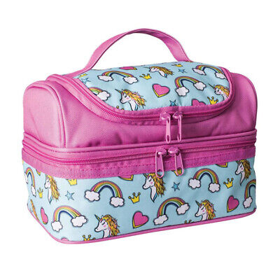 $ CDN24.58 • Buy 100% Genuine! AVANTI Yum Yum Double Decker Lunch Bag Unicorns Pink Multi!
