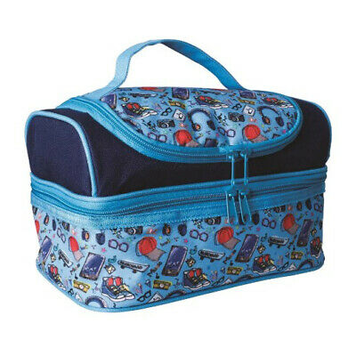 $ CDN29.02 • Buy 100% Genuine! AVANTI Yum Yum Double Decker Lunch Bag Rad Blue! RRP $33.95!