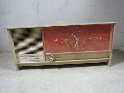 $ CDN158.59 • Buy Vintage Sears Silvertone 7033 7035 Tube Alarm Clock Radio 1960's 70's