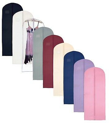 £6.99 • Buy Hoesh Breathable Long Zipped Suit Tops Skirt Clothes Dress Cover Garment Bags