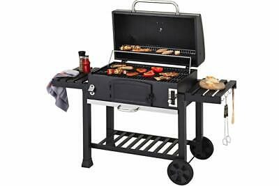 CosmoGrill Outdoor XXL Smoker Charcoal BBQ Portable Grill Garden BBQ • 269.99£