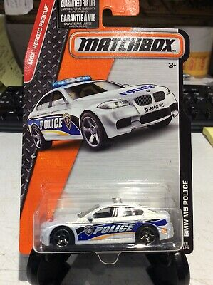 $1 • Buy Matchbox BMW M5 Police Heroic Rescue #68 2016