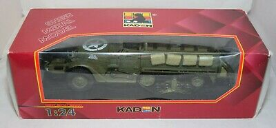 $127.11 • Buy Kaden Gonio M3 Half Track Armoured Personnel Carrier K627 1:24 Scale