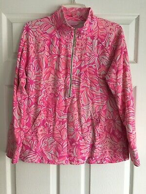 $29.99 • Buy Lilly Pulitzer Popover Large Pink Pawsitive Cattitude