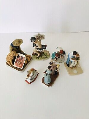$ CDN131.81 • Buy Norman Rockwell Figurines Lot(7j Of Figurines Circa 1974-1986, Museum.