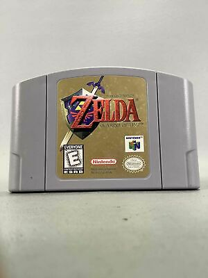 $15.50 • Buy The Legend OF Zelda Ocarina Of Time Game Cartridge Only For N64 Nintendo 64