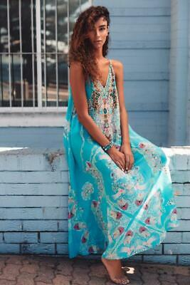 "AU186 • Buy Czarina ""Feel The Sky"" Shoestring Sleeveless Dress"