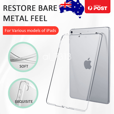 AU10.99 • Buy Soft Clear Case Cover For Apple IPad Mini 5 4 Air 3 2 1 Pro 12.9  11  10.5  9.7