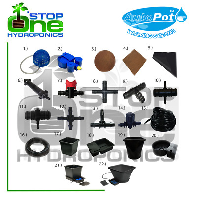 Autopot Irrigation Watering System Parts/Spare Accessories Connectors Hydroponic • 5.50£