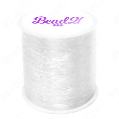 $ CDN17.43 • Buy 100 Meter Elastic Stretch Bead Cord Beading Jewelry String Thread 1mm 0.7mm 100m