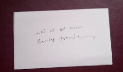 Heartbeat - Philip Franks Signed Index Card • 9.99£