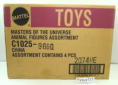 $395 • Buy MOTU, He-Man Figures Lot Sealed Shipping Case, Masters Of The Universe 200x, Box