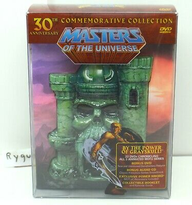 $350 • Buy MOTU, 30th Anniversary Commemorative Collection, Masters Of The Universe, DVD