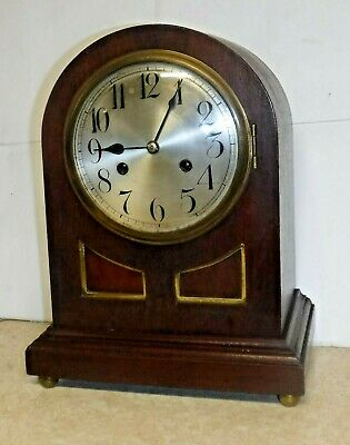 AU243.84 • Buy Antique Junghans Wurttemberg 8 Day Chime Bracket Clock B11 Working