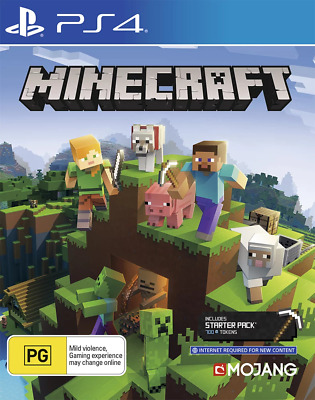 AU46.95 • Buy Minecraft Starter Collection PS4 Game NEW
