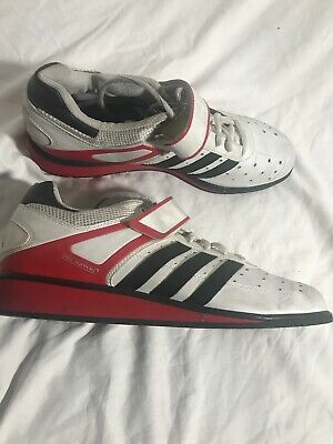 $ CDN45.65 • Buy ADIDAS POWER PERFECT 2 WEIGHTLIFTING SHOES. Size 11.5 White Red Black