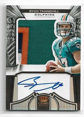 $ CDN0.99 • Buy Ryan Tannehill 2012 Crown Royale Dolphins Patch Autograph Card 95/149